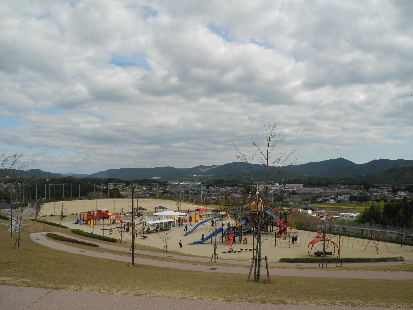 龍王山公園へ(年中さん)