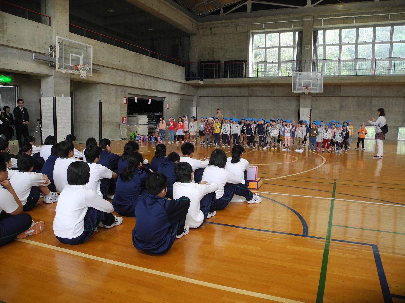 中学生との交流(武田中学校)