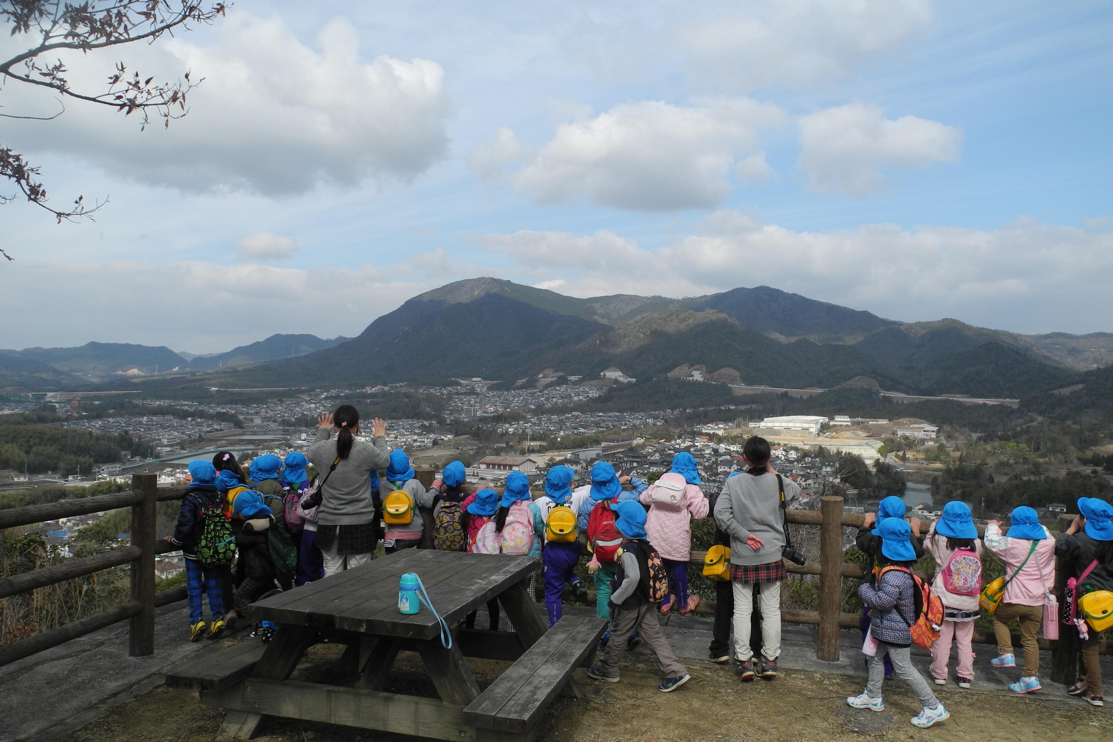 龍王山展望台